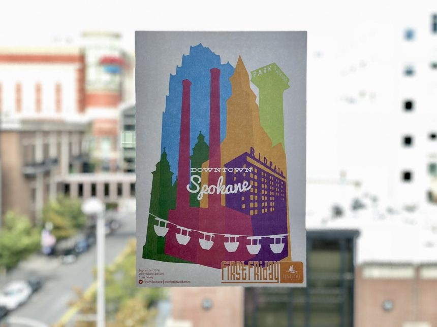 Downtown Spokane Accepting First Friday Poster Artist