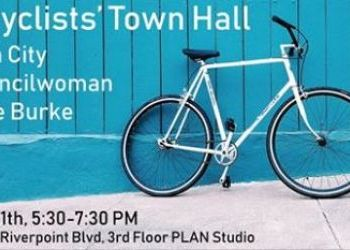 Bicyclists' Town Hall - July 11
