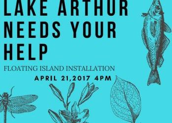 Gonzaga Students to Install Floating Wetlands in Lake Arthur on April 21 as Part of Earth Week