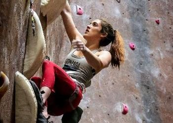 Zag Hannah Tolson Edges Tarheel to Capture National Championship in Rock Climbing