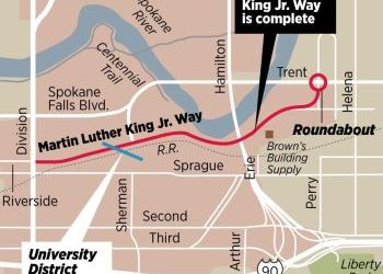 Getting There: Spokane didn't just follow suit and rename a street for MLK Jr. – it built a new one
