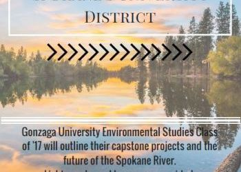 Gonzaga Environmental Studies student presentations - May 2