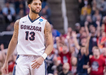 Gonzaga ties for second in athlete graduation rate