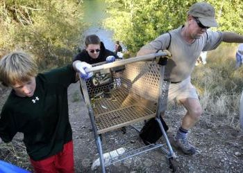 14th Annual Spokane River clean up - September 16