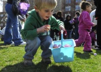 Gonzaga Palm Sunday Mass and Easter Egg Hunt - March 25