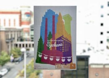 Downtown Spokane Accepting First Friday Poster Artist Submissions - Oct 5 deadline