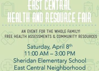 East Central Health and Resource Fair - April 8