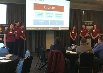 WSU students take top award at Pacific Northwest construction management competition