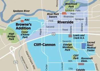 Downtown Spokane a crucible for housing, transit and business ideas