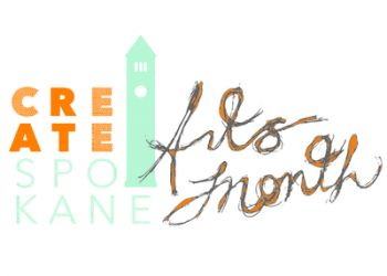 October is Create Spokane Arts Month
