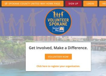 United Way portal for Spokane volunteer opportunities during COVID-19