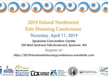 Register for the Inland Northwest Fair Housing Conference - April 11