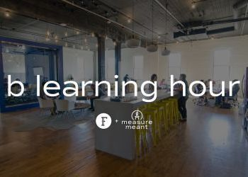 B Learning Hour at Fellow Coworking - March 21 and all third Thursdays