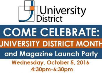 Come Celebrate University District Month and Magazine Release