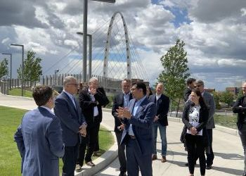 Governor Inslee visits Catalyst site - June 7