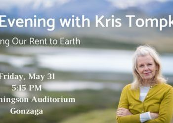 Inland NW Land Conservancy to host lecture by Kris Tompkins to speak - May 31