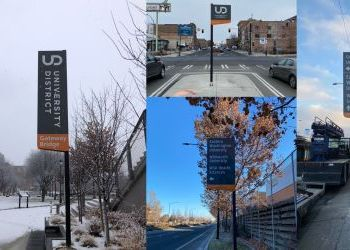 University District Wayfinding Signs