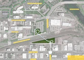 University District Gateway Bridge Site Plan and Project Information