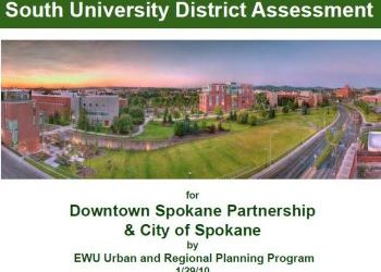 South University District Assessment by EWU Urban and Regional Planning Program