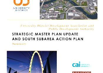University District Strategic Master Plan Update (UDSMP-U) Summary