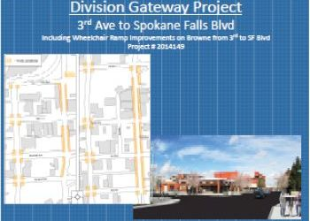 City of Spokane Division Gateway Improvements presentation