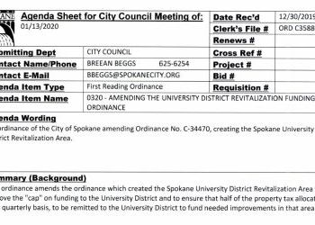 Ordinance C35880 removing TIF cap