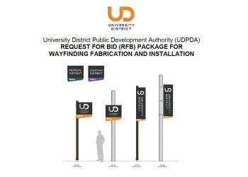 RFB Wayfinding Package and Attachment A - 7.30.19 redline