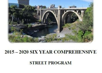 City of Spokane 2015-2020 Six-Year Comprehensive Street Program