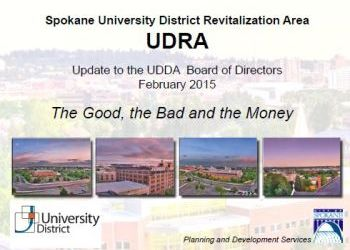 UDRA Update by the City
