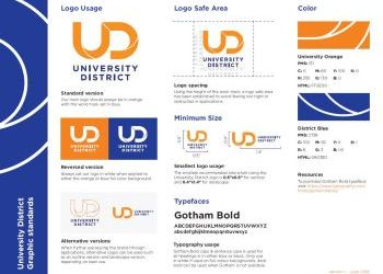 University District Graphic Standards and Logo Info