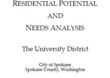 Residential Potential and Needs Analysis
