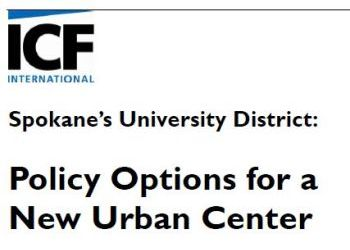 Spokane's University District Policy Options for a New Urban Center