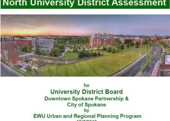 North University District Assessment by EWU Urban and Regional Planning Program