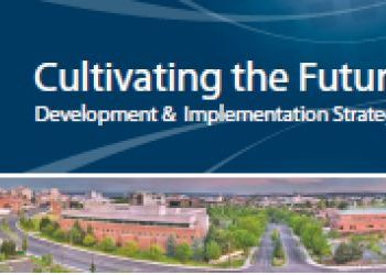 University District Development & Implementation Strategy brochure